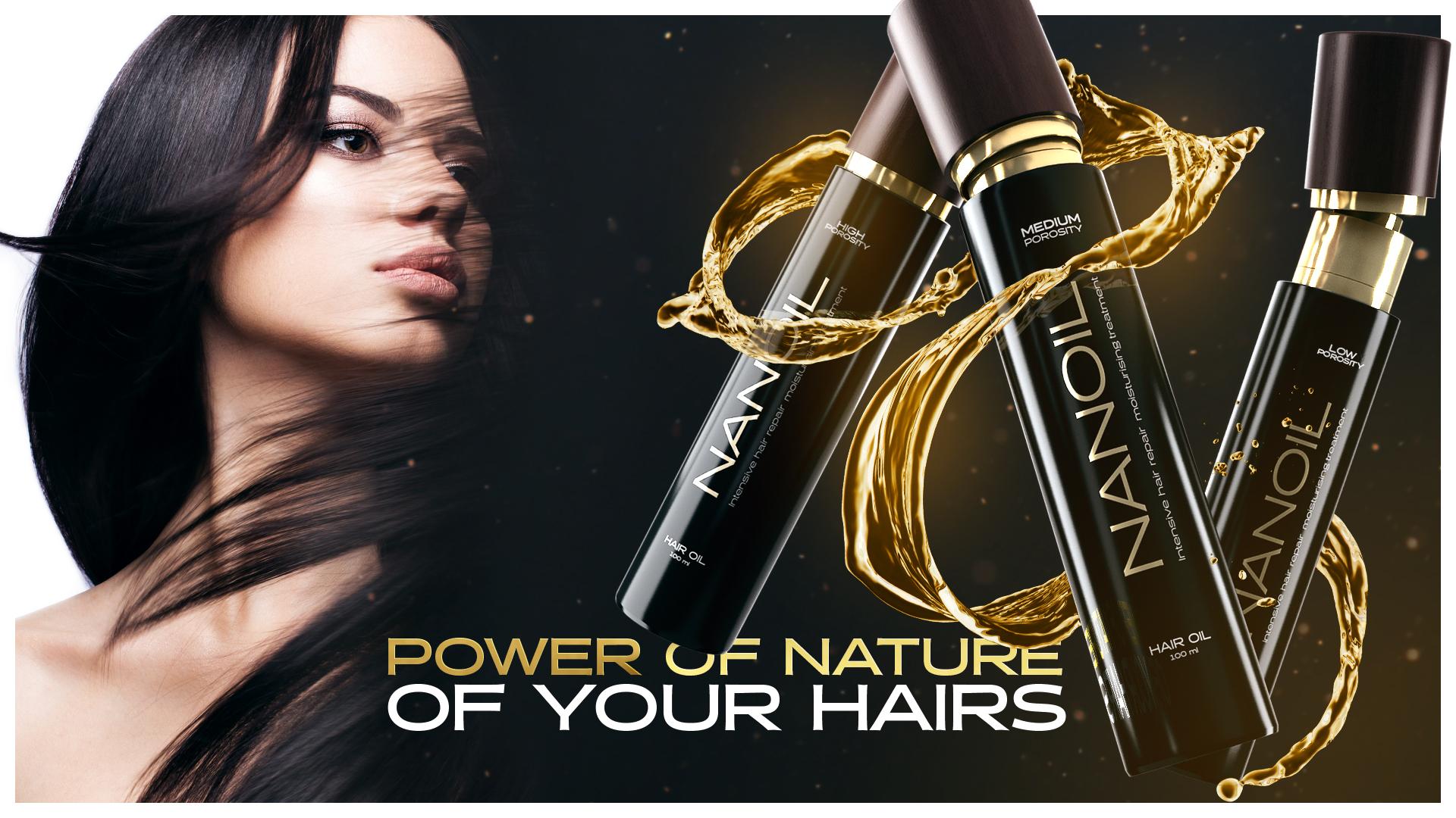 Three times YES for Nanoil hair oil