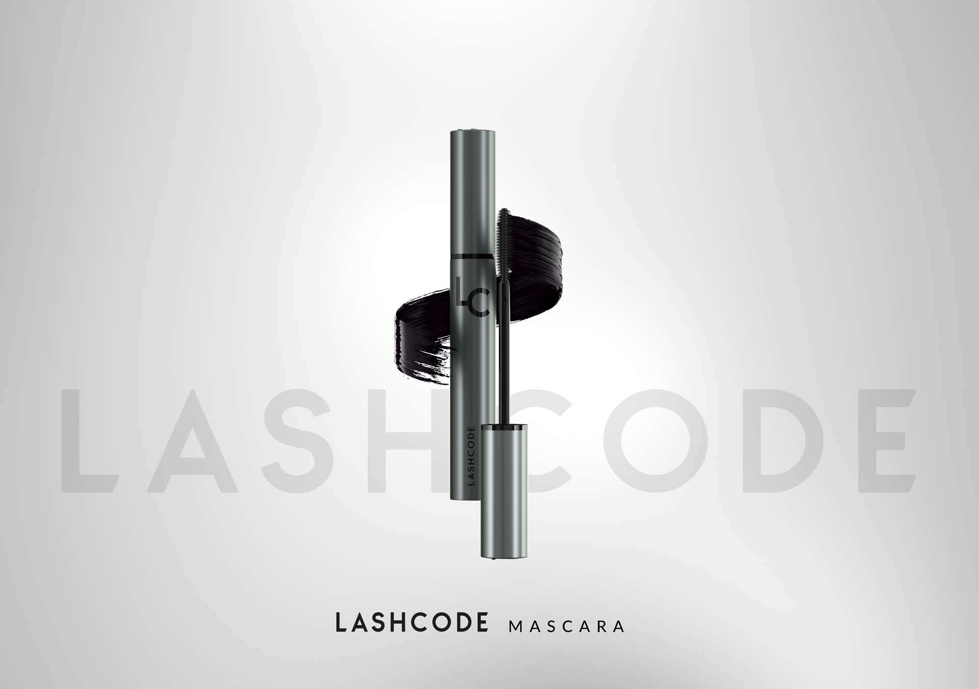 Lashcode mascara. High-level makeup
